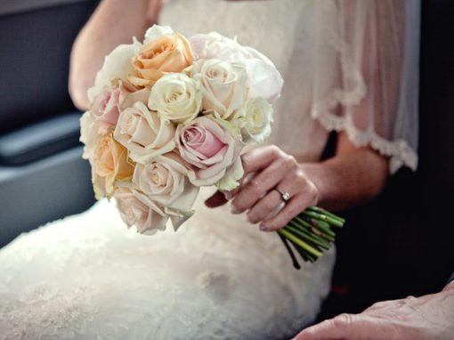 National Theatre Wedding Flowers
