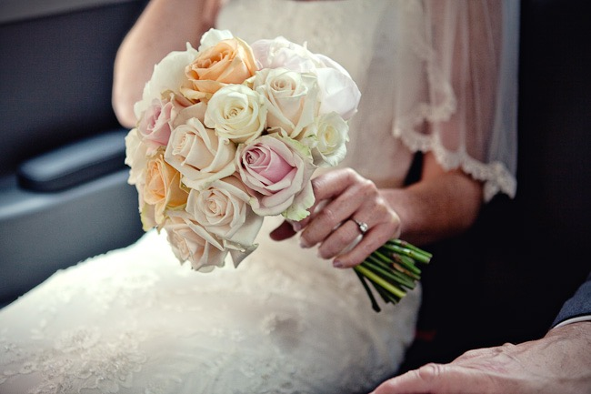Pastel Rose Dome Bouquet