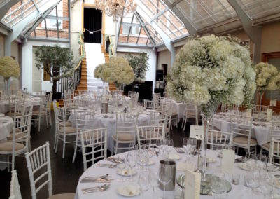 Botleys Mansion Tall Table Centres