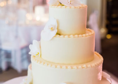 Charmelle & Shaun_Orchid Cake