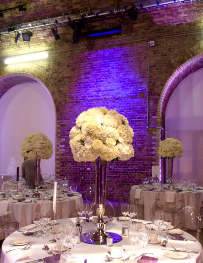 Vinopolis Tall Table Centres