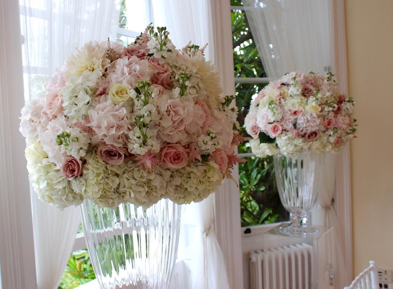 Ceremony Flowers at Pembroke Lodge, Richmond