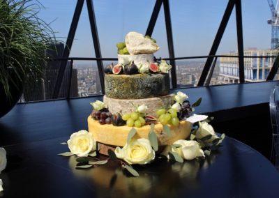 Gherkin Cheese Wedding Cake