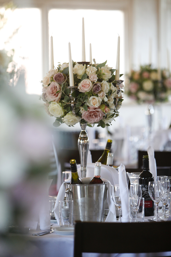 Tall Candelabra Table Centre