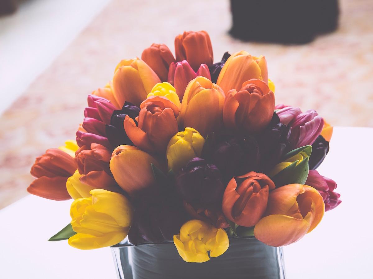 Mandap Base Flowers