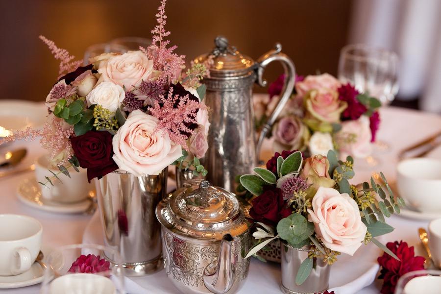 Teapot Table Display