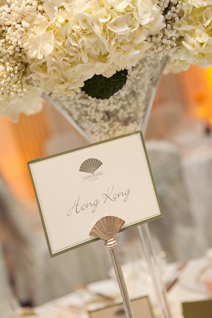 Wedding Flowers at the Mandarin Oriental Hyde Park, London