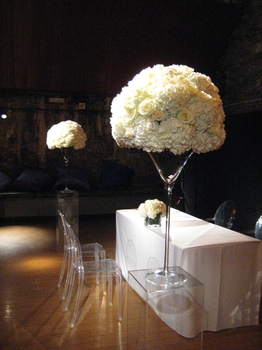 Vinopolis Wedding Flowers