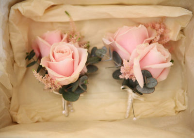 Sweet Avalanche Corsages