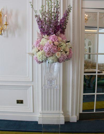Vase Display at The Mandarin Oriental