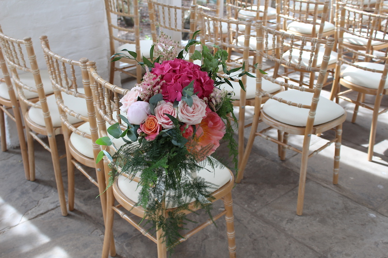 Orangery Chair Flowers