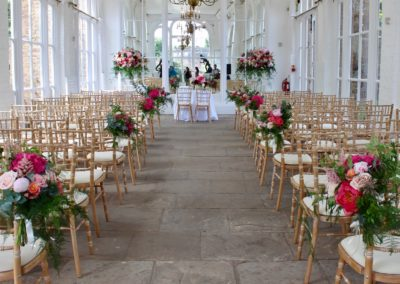 Wedding Flowers at The Orangery and The Belvedere, Holland Park