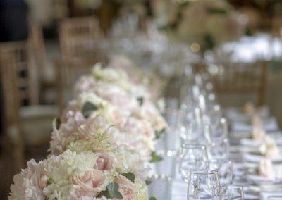 top-table-wedding-flowers-tudor-barn
