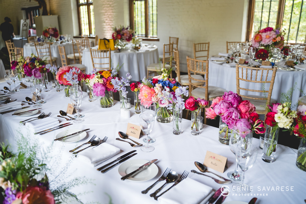 Top Table Flowers at Tudor Barn