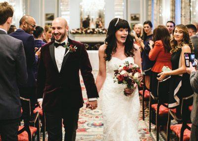 Grace & James's Wedding Flowers at The Lanesborough