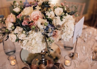 Dartmouth House Wedding Flowers