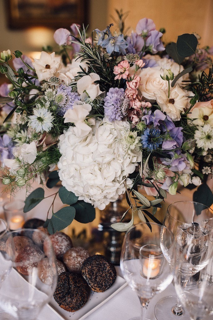 Dartmouth House Wedding Flowers