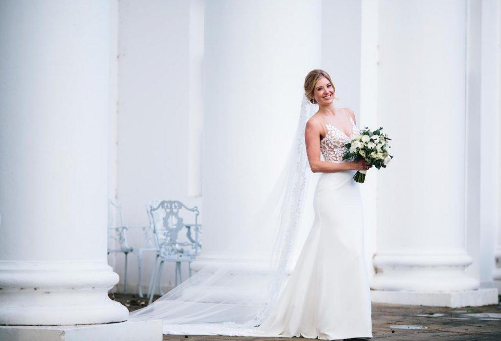 Lonne's bridal bouquet