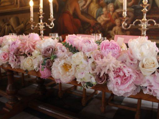 Painted Hall Wedding Flowers