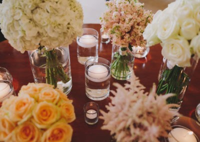 Anita & Zoran - Cocktail Reception Flowers