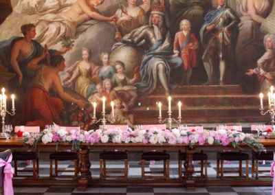 Painted Hall Top Table_5857