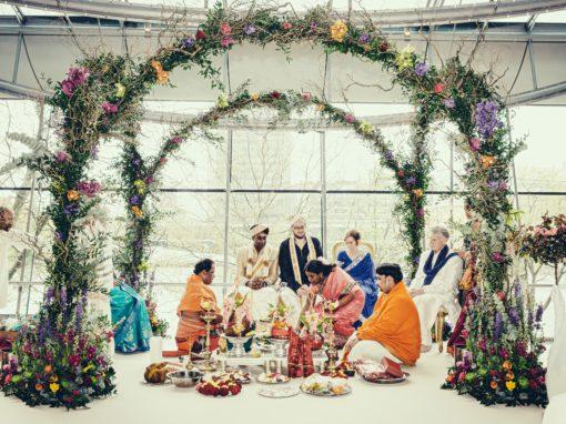 Ruth & Pad's Wedding at The Park Plaza, London