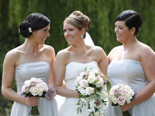 Sarah & Ray's Wedding Flowers at De Vere Theobalds Estate, Cheshunt