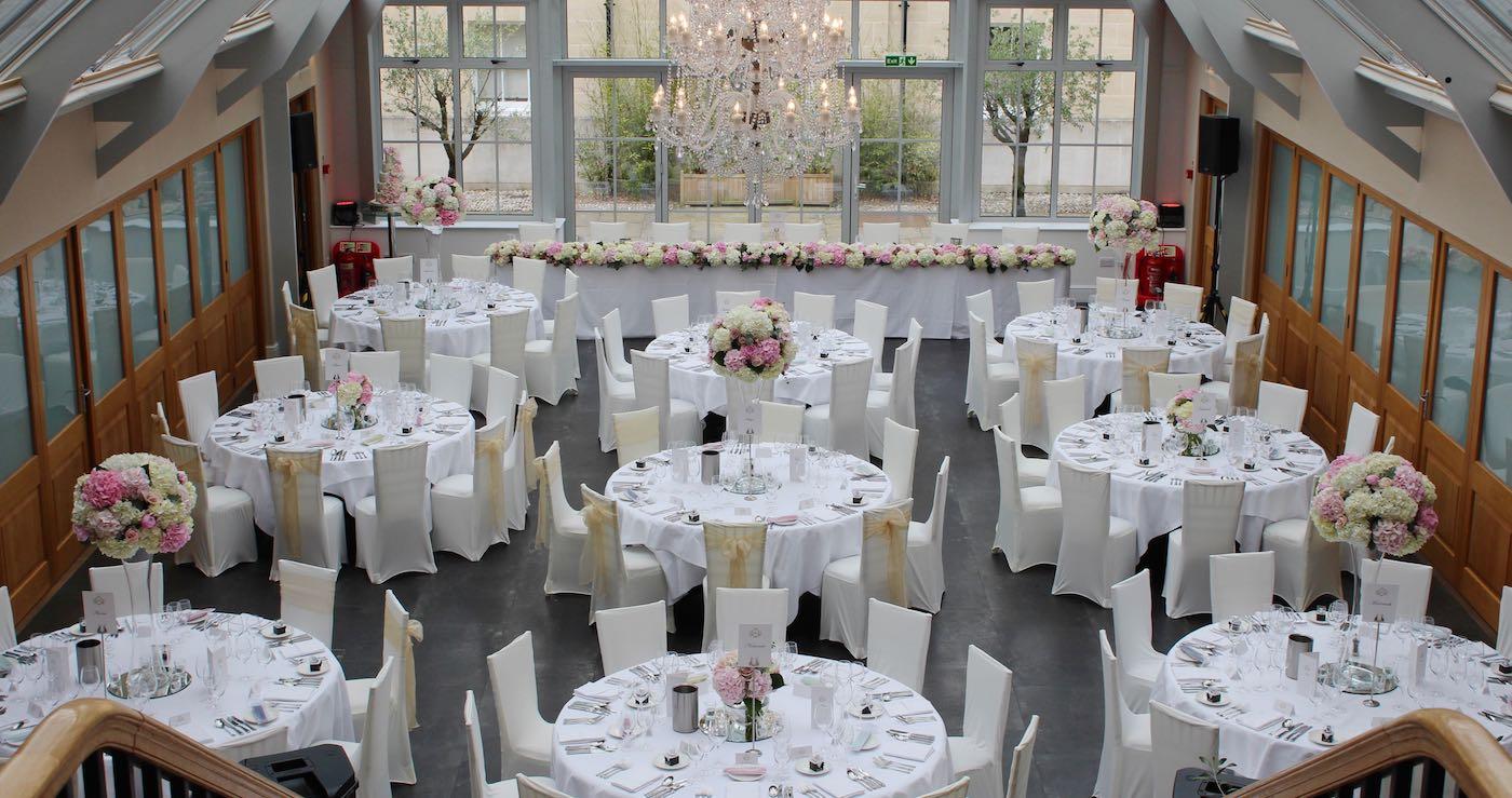 Botleys Mansion Wedding Reception Flowers
