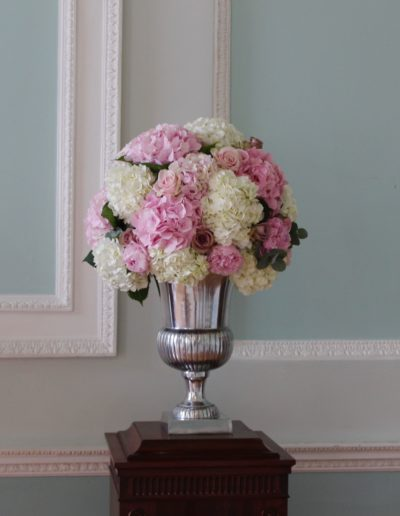 Urn Display at Botleys Mansion