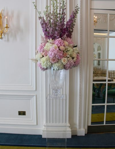 Vase Display at The Mandarin Oriental