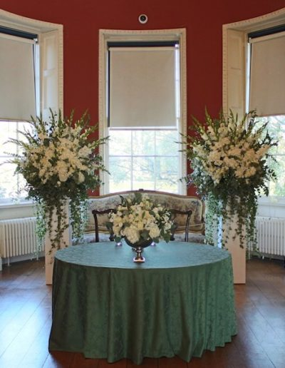 Wedding Flowers at Ranger's House, Greenwich