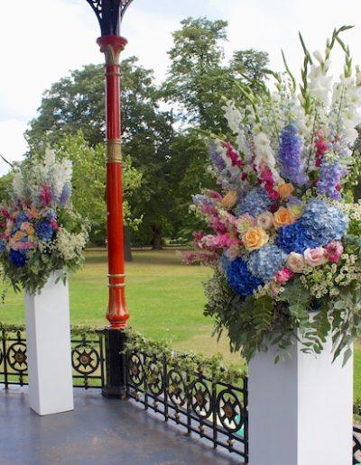 Greenwich Park Pedestals