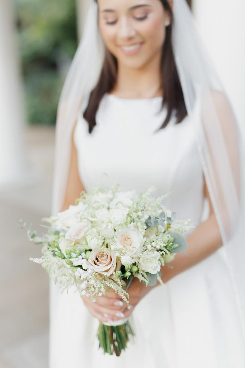 Laura's Bridal Bouquet