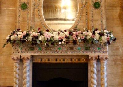 Mantelpiece Flowers