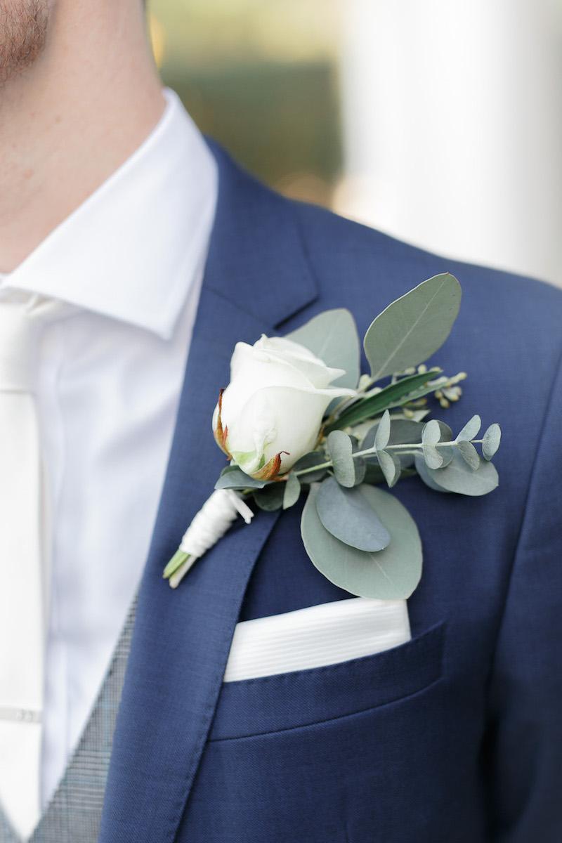 Paul's Rose Buttonhole