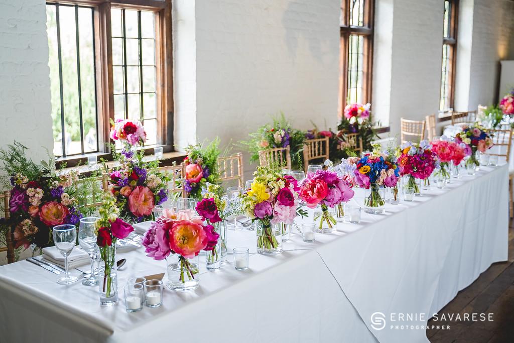 Top Table Flowers at Tudor Barn