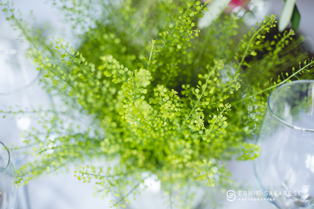 Natalie and Martin's Wedding Reception Flowers
