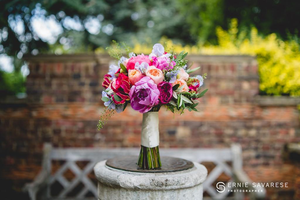 Natalie's Bridal Bouquet