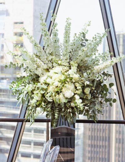Gherkin Wedding Flowers