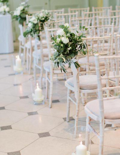 The Hurlingham Club Chair Flowers