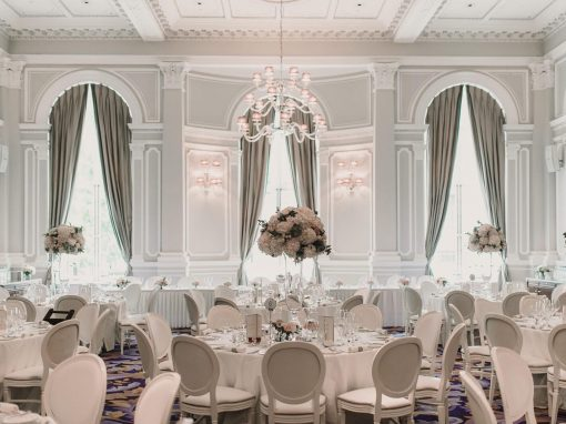 Cleo & Brett's Wedding Flowers at Corinthia London