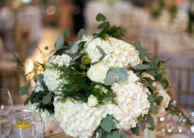 The Painted Hall Wedding Flowers