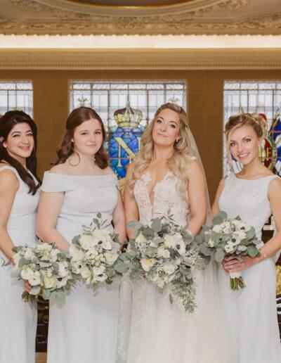 Bridal bouquets by Rachel Morgan Wedding Flowers