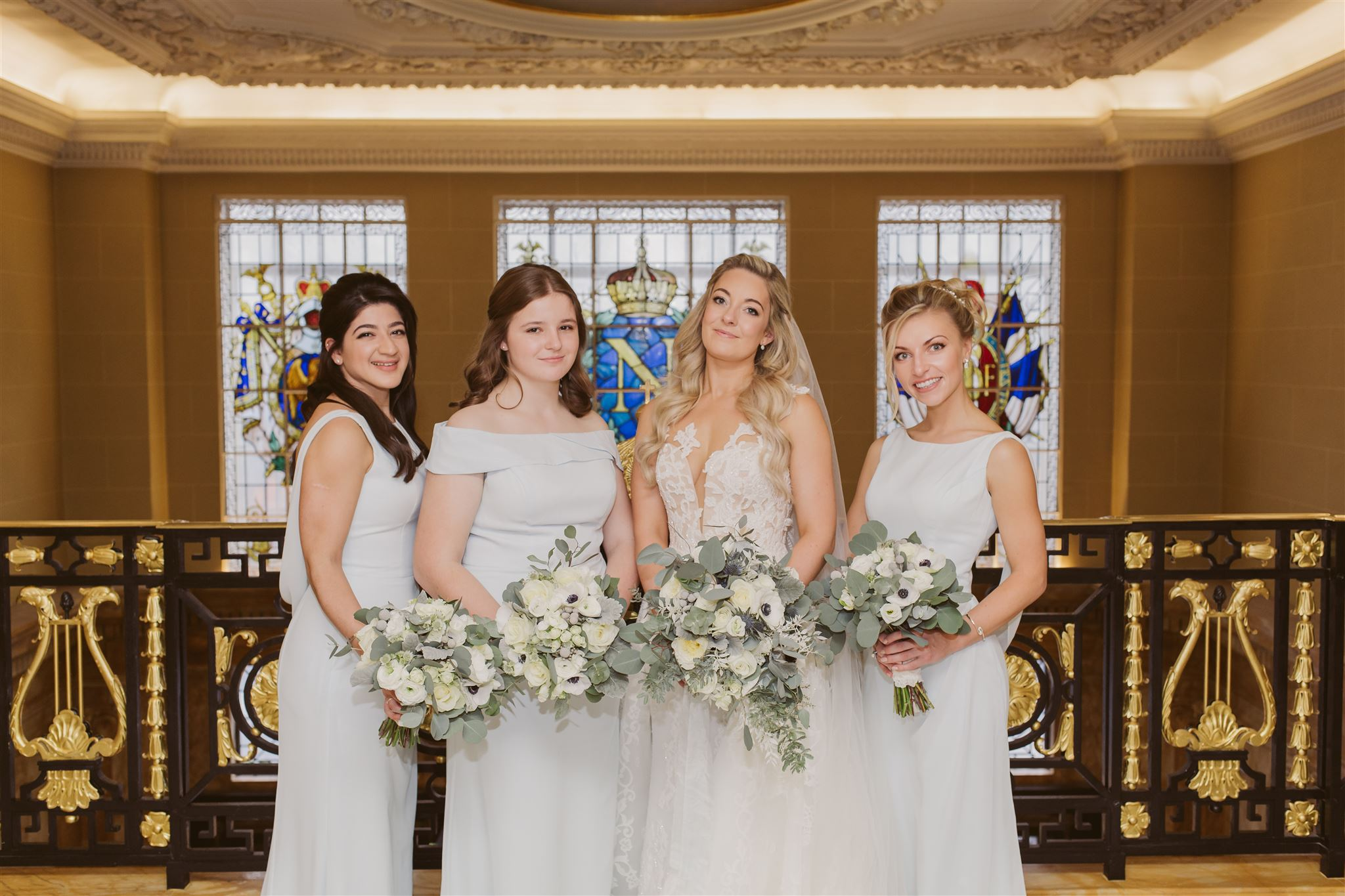 Bridal bouquets by Rachel Morgan Wedding Flowers