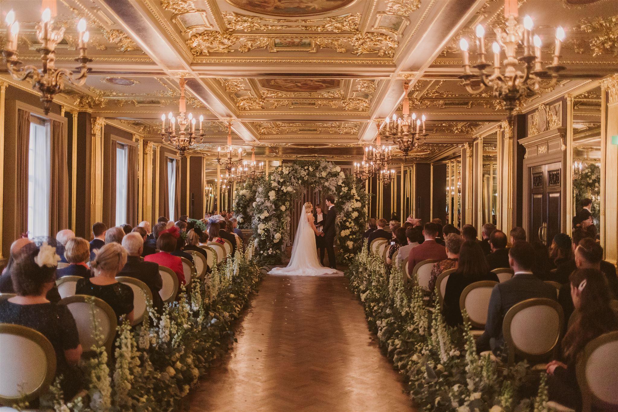 Wedding flowers at Cafe Royal, London by Rachel Morgan Wedding Flowers