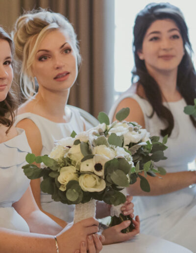 Bridesmaids bouquets by Rachel Morgan Wedding Flowers
