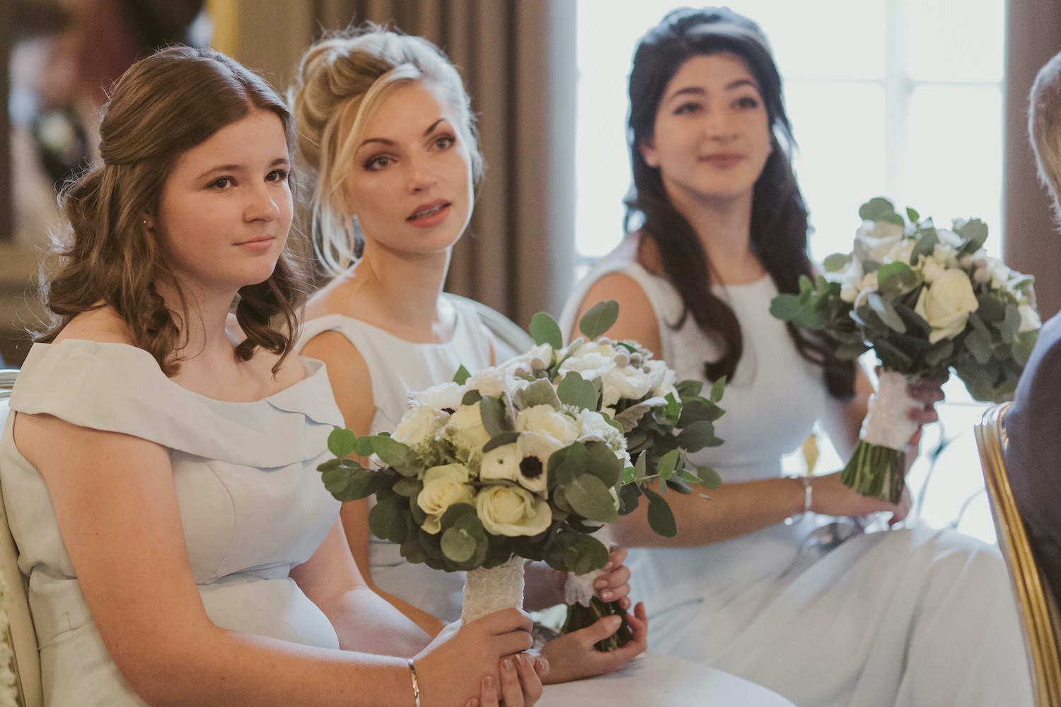 Bridesmaids bouquets by Rachel Morgan Wedding Flowers