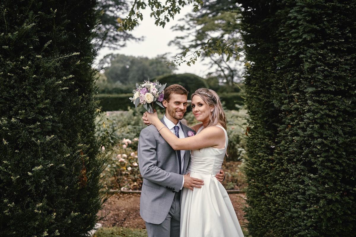 Hannah and Rob at Ashridge House