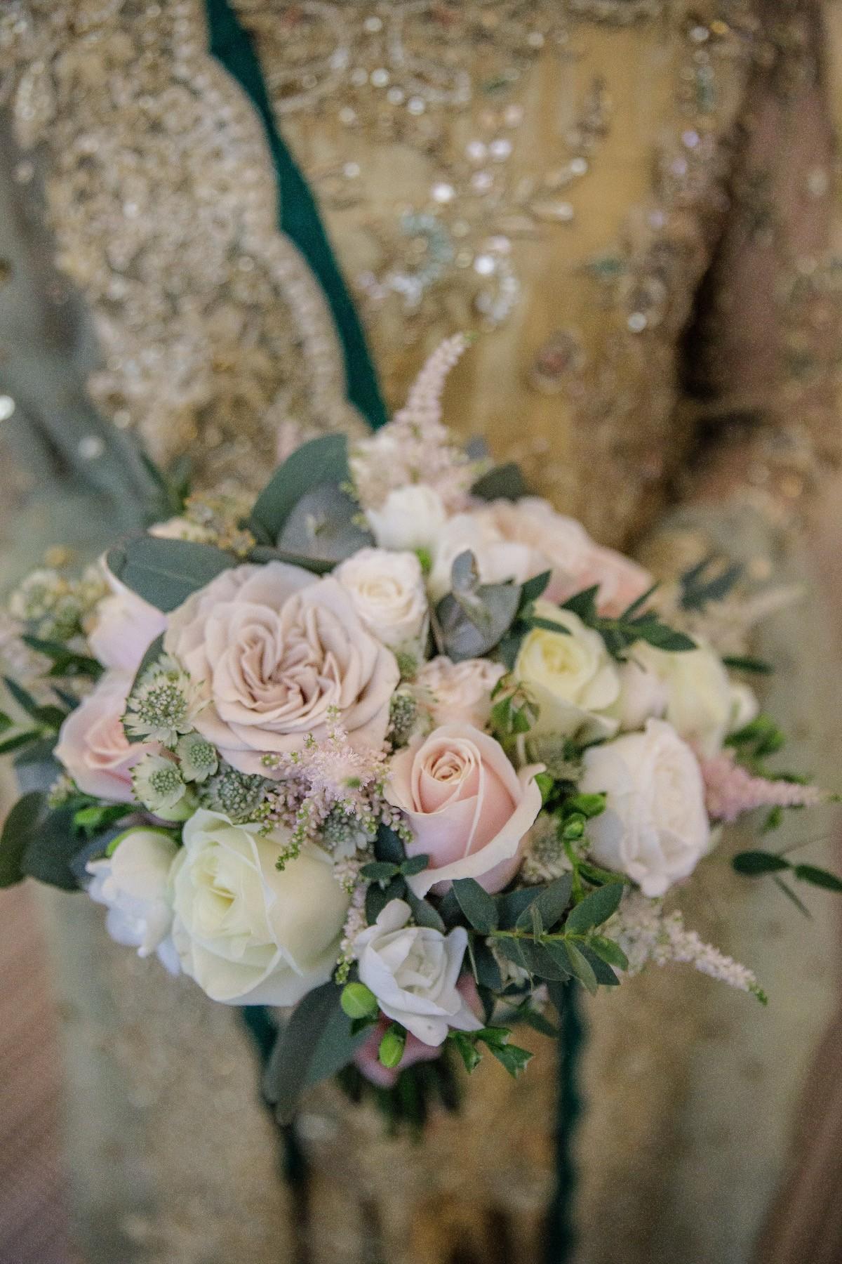 Nadia's bridal bouquet