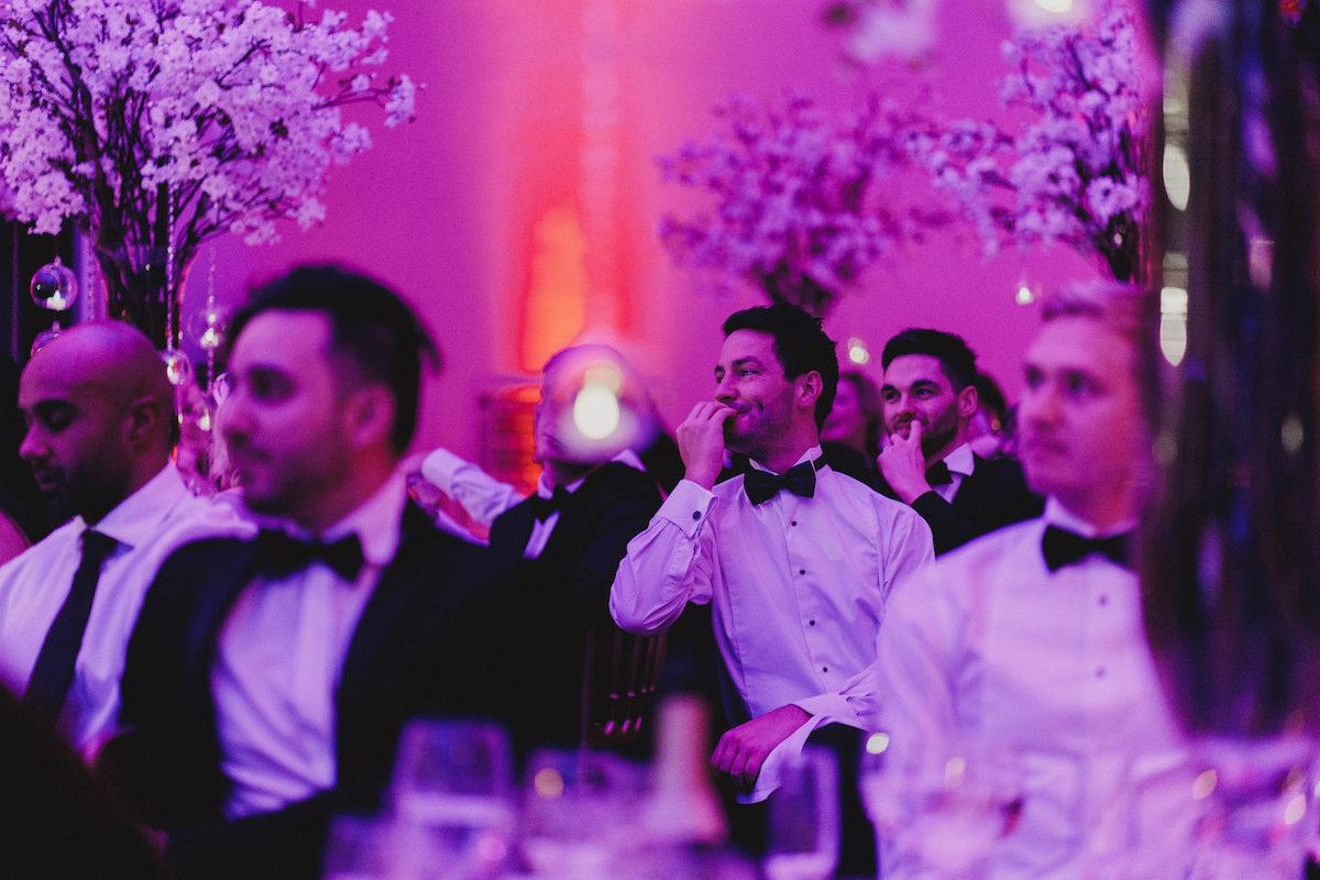 The Lansdowne Club wedding reception flowers